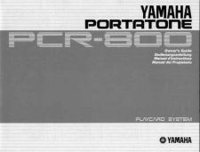Buy Yamaha PCR800E Operating Guide by download Mauritron #249120