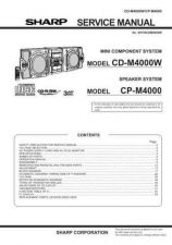 Buy Sharp CDM4000W (1) Service Manual by download Mauritron #208627