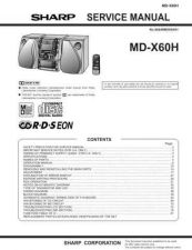 Buy Sharp MDX60H Service Manual by download Mauritron #210138