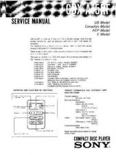 Buy Sony CDX-A15RF Service Manual by download Mauritron #231713