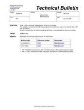 Buy Panasonic MAC0404002C1 Service Manual by download Mauritron #267552