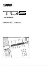 Buy Yamaha TQ5E 1 Operating Guide by download Mauritron #250094