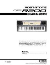 Buy Yamaha PSRA300 PCB E Manual by download Mauritron #259087
