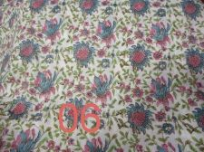 Buy 10yards Indian Hand Made cotton fabric hand block print fabric natural dye print