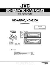 Buy JVC KD-AR200J SCH SERVICE MANUAL by download Mauritron #220297