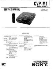 Buy Sony CVP-M1 Service Manual by download Mauritron #239348