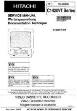 Buy Hitachi C1420VT Service Manual by download Mauritron #260480