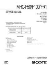 Buy Sony MHC-G500 Service Information by download Mauritron #237955