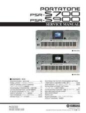 Buy Yamaha PSR1500 3000 OV5 E Manual by download Mauritron #258870