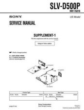 Buy Sony SLV-D360PD560P Technical Manual. by download Mauritron #243950