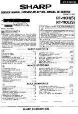 Buy Sharp RT110H-E -DE-FR(1) Service Manual by download Mauritron #209477