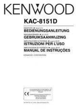 Buy Kenwood KAC-8152D by download Mauritron #221356