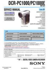 Buy Sony DCR-TRV22TRV22E.. Service Manual by download Mauritron #239732