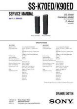 Buy Sony SS-H790 Service Manual. by download Mauritron #244830