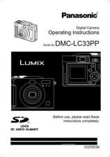 Buy Panasonic DMCLC33 Operating Instruction Book by download Mauritron #235985