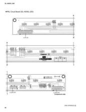 Buy Yamaha EL40 EL60 PCB E Manual by download Mauritron #256515