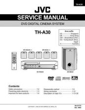 Buy JVC TH-A30 SERVICE MANUAL by download Mauritron #220690