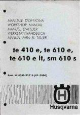 Buy Husqvarna TE 410e 610e 610e LT SM 610 S '98 a '00 Bike Motorcycle Service Man
