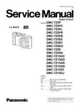 Buy Panasonic DMC-TZ4EF Service Manual with Schematics by download Mauritron #266997