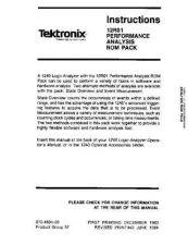 Buy TEKTRONIX 1240-1SERVICE by download #109514