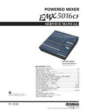 Buy Yamaha EMX5000 SM1(E) Manual by download Mauritron #256809