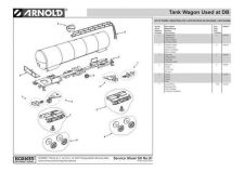 Buy Arnold No.091 Tank Wagon Used at DB HN6017 Views etc by download Mauritron #206