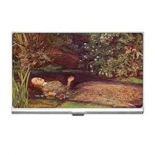Buy Ophelia Hamlet Suicide Millais Art Business Credit Card Case Holder