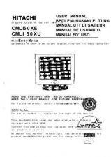 Buy Fisher CML150XU DE Service Manual by download Mauritron #215120