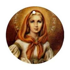 Buy St Dymphna Patron Saint Depression Anxiety Ceramic Ornament