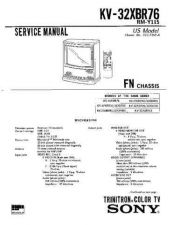 Buy Sony KV-32XBR35 Manual by download Mauritron #229575
