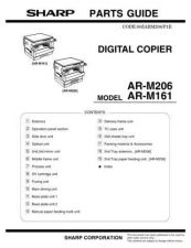 Buy Sharp AR-M277 Parts Guide by download Mauritron #232704