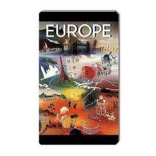 Buy Europe Souvenir Retro Travel Art Vinyl Magnet