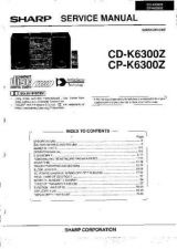 Buy Sharp CDK6300Z-CPK6300Z (1) Service Manual by download Mauritron #208625