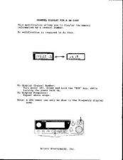 Buy ALINCO CH DISP DJ-582T Service Information by download #110306