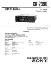 Buy Sony XR-2100 Service Manual. by download Mauritron #246074
