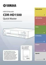 Buy Yamaha CDR-HD1500 UAB EN-1 Operating Guide by download Mauritron #246997