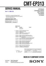 Buy Sony CMT-ED2-ED2U Service Manual by download Mauritron #239184