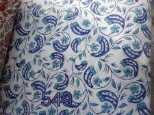 Buy 10yards Indian Hand Made sanganeri pure cotton fabric hand block printed fabrics
