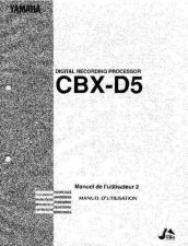 Buy Yamaha CBXD5F2 Operating Guide by download Mauritron #246940