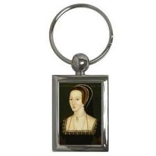 Buy Anne Boleyn Portrait King Henry VIII Queen Art Keychain