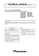 Buy Pioneer PDP-S55-LR Manual by download Mauritron #227685