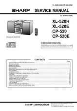 Buy Sharp. XL520H-E-CP520-E_SM_GB(1) Manual by download Mauritron #212106