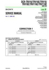 Buy Sony DCR-TRV6 Service Manual by download Mauritron #239851