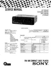 Buy Sony CDX-7520Service Manual by download Mauritron #237551