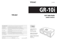 Buy Teac GR-10i(E)B Service Manual by download Mauritron #223754
