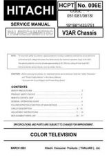 Buy Hitachi HCPT-006E Service Manual by download Mauritron #262321