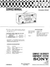 Buy Sony FH-414 Service Manual by download Mauritron #231985