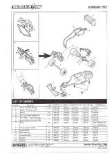 Buy Scalextrix No.318B Jordan 197 Service Sheets by download Mauritron #206390