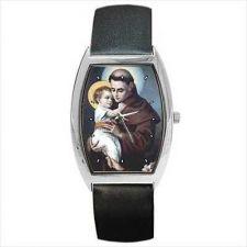 Buy Saint St Anthony Of Padua Catholic Unisex Art Watch