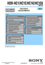 Buy Sony HDR-HC1HC1EHC1KHC1EK[3] Service Manual by download Mauritron #241338
